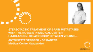 Stereotactic Treatment of Brain Metastases with the Novalis in Medical Center Haaglanden: Relationship Between Volume, Dose and Local Control