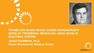 Frameless Based Image Guided Radiosurgery (IGRS) of Trigeminal Neuralgia Using Novalis ExacTrac System