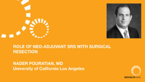 Role of Neo-Adjuvant SRS with Surgical Resection