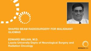 Shaped Beam Radiosurgery for Malignant Gliomas