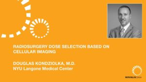Radiosurgery Dose Selection Based on Cellular Imaging