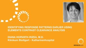Identifying Response Patterns Earlier Using Elements Contrast Clearance Analysis