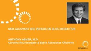 Neo-Adjuvant SRS Versus En Bloc Resection