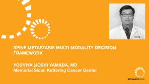 Spine Metastasis Multi-Modality Decision Framework