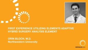 First Experiences Utilizing Elements Adaptive Hybrid Surgery Analysis