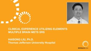 Clinical Experience Utilizing Elements Multiple Brain Mets SRS