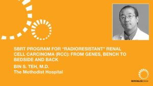 "SBRT Program for ""Radioresistant"" Renal Cell Carcinoma (RCC): from Genes, Bench to Bedside and Back"