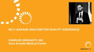 MLC Leakage Analysis for Quality Assurance