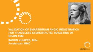 Validation of Smartbrush Angio Registration for Frameless Stereotactic Targeting of Brain AVM