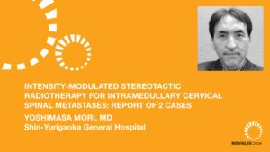 Intensity-Modulated Stereotactic Radiotherapy for Intramedullary Cervical Spinal Metastases: Report of 2 Cases