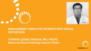 Management News for Patients with Spinal Metastases