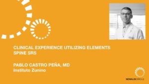 Clinical Experience Utilizing Elements Spine SRS