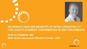 OR Workflows and Benefits of Intra-operative CT for Lead Placement Confirmation in DBS Treatments