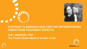 Contrast Clearance Analysis for Differentiating Tumor From Treatment Effects
