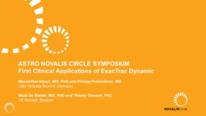 First Clinical Applications of ExacTrac Dynamic