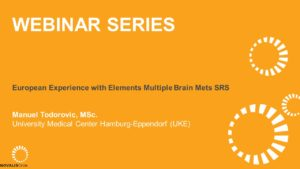 European Experience with Elements Multiple Brain Mets SRS