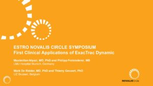ESTRO: First Clinical Applications of ExacTrac Dynamic
